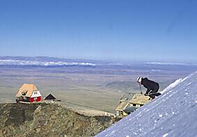 Skiing Bolivia