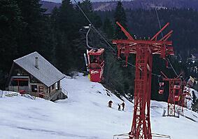 Skiing Romania