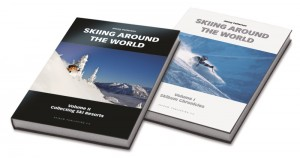 Skiing two books