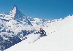 Skiing Switzerland