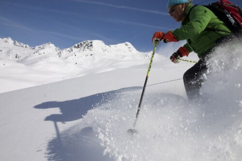 Contact Skiing Around the World Book