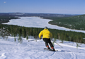 Skiing Finland