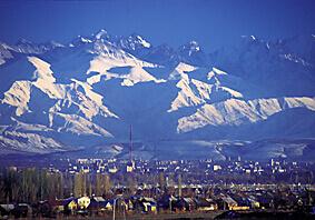 Skiing Kyrgyzstan
