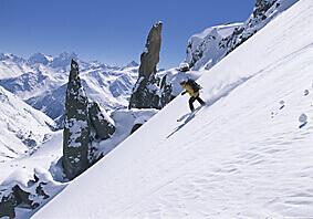 Skiing Russia