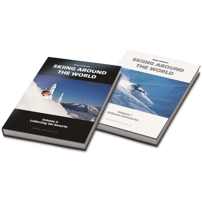 Skiing Around the World - Two Books