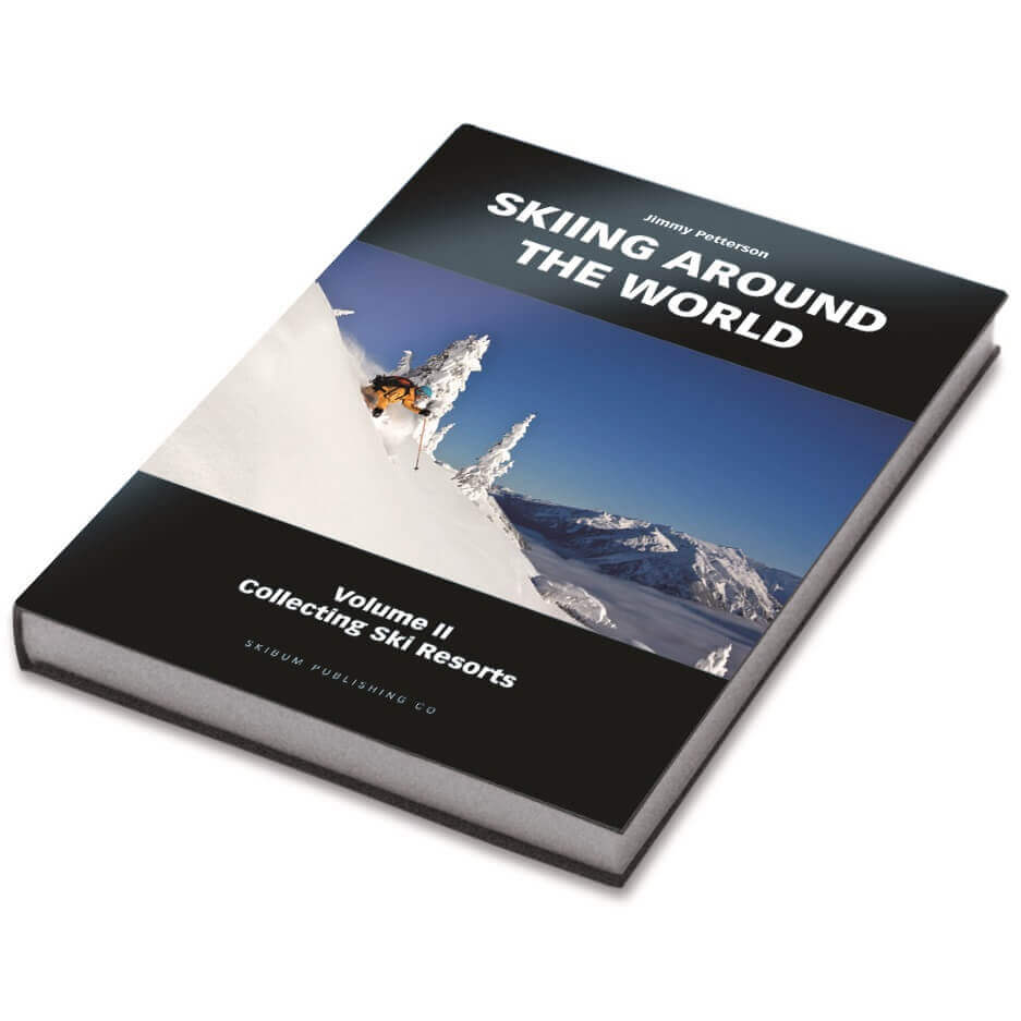 Skiing Around the World Volume II – Collecting Ski Resorts | Skiing Around The World Book